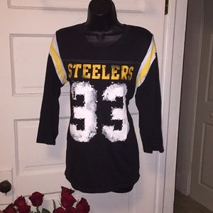 Number 33 Steelers what more do you want by pink
